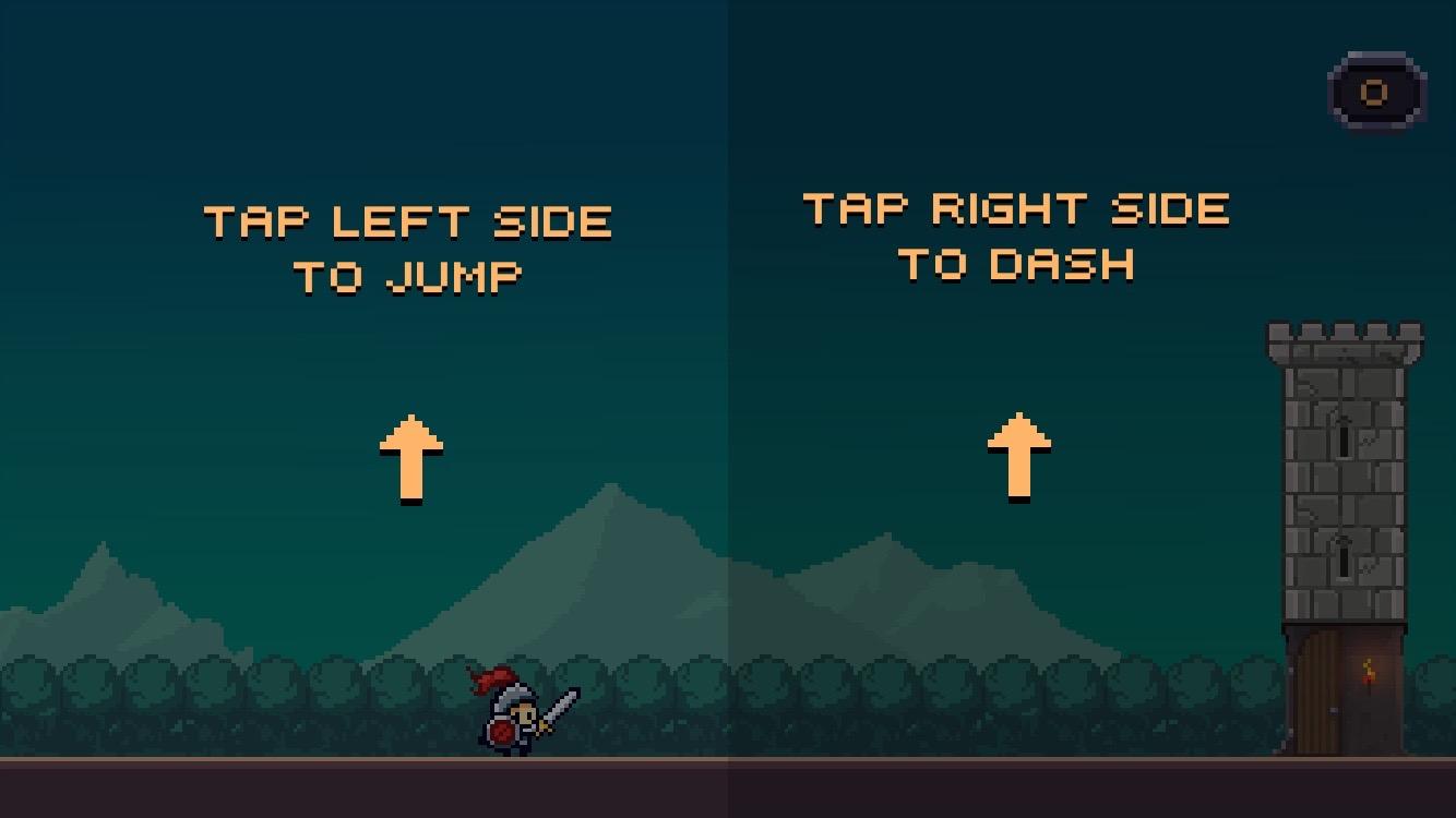 androidアプリ Dashy Knight攻略スクリーンショット1