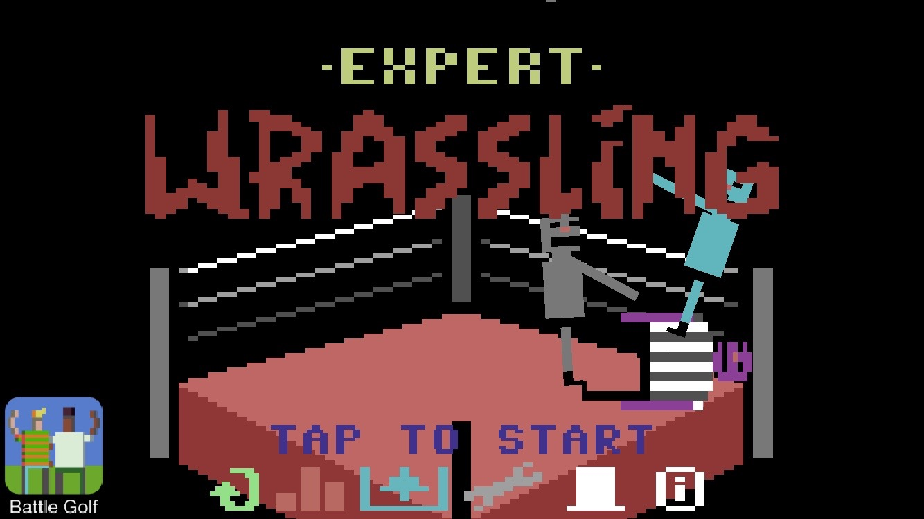 androidアプリ Wrassling攻略スクリーンショット1