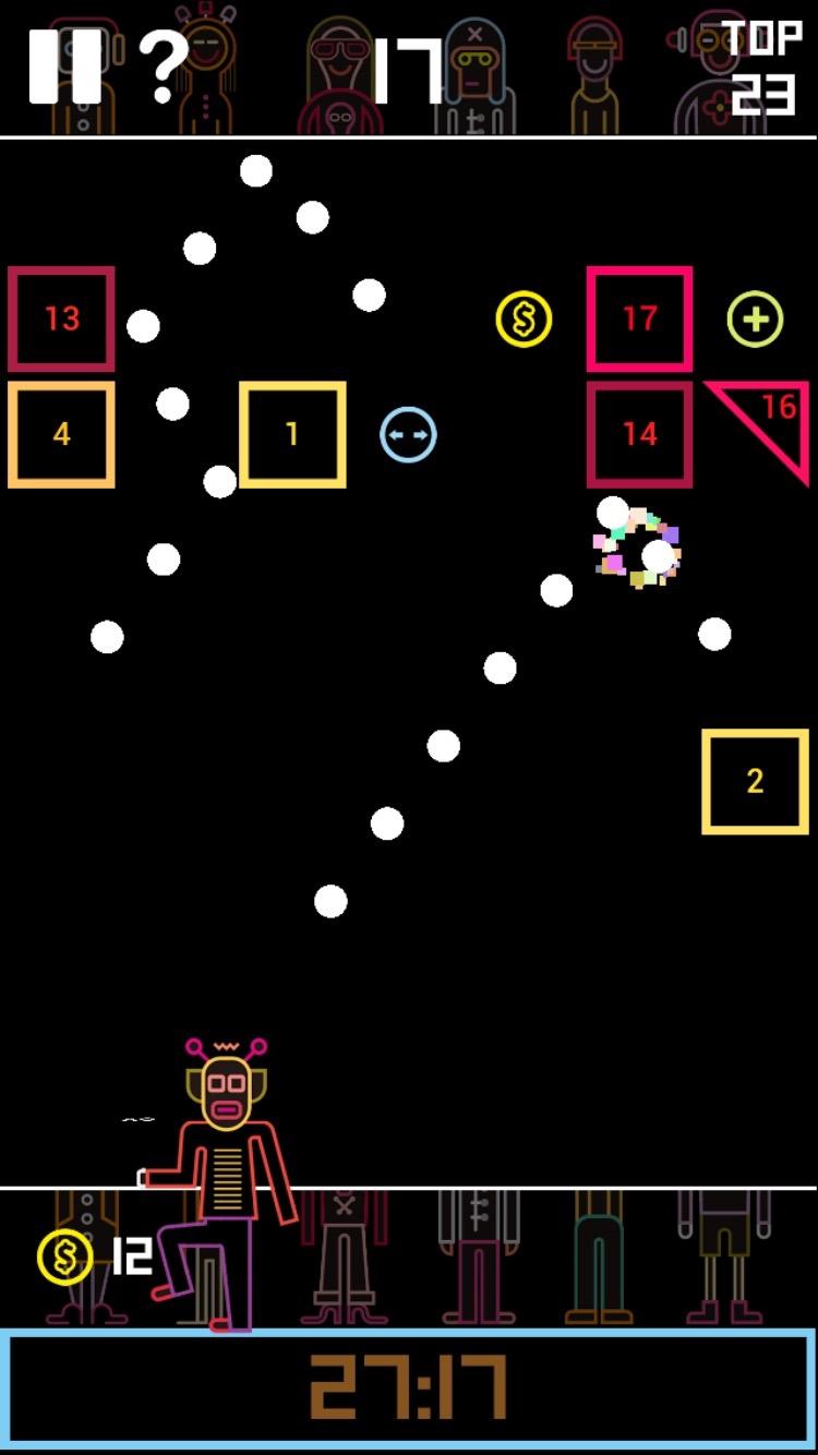 androidアプリ BBTAN攻略スクリーンショット3