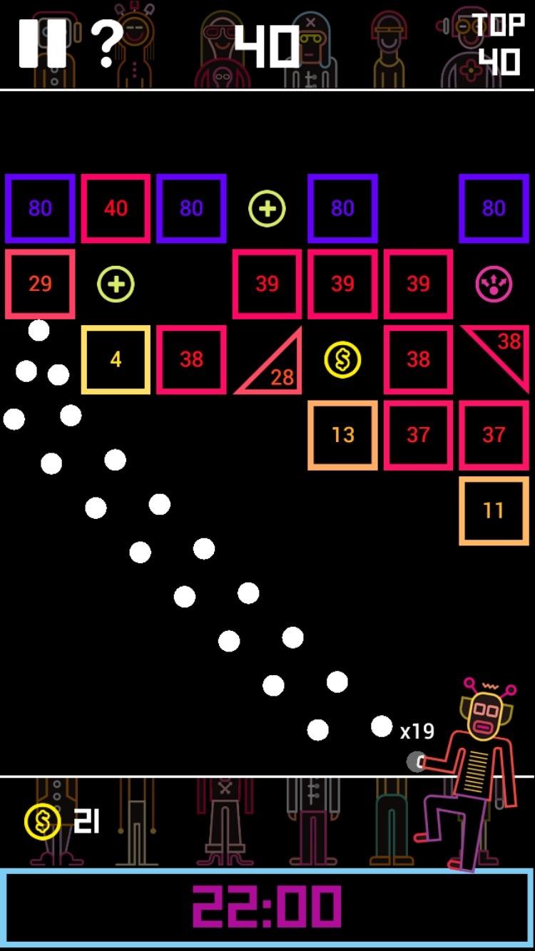 BBTAN androidアプリスクリーンショット1