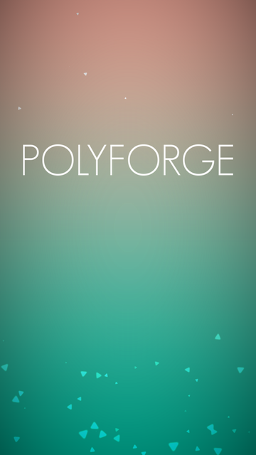 androidアプリ Polyforge攻略スクリーンショット1
