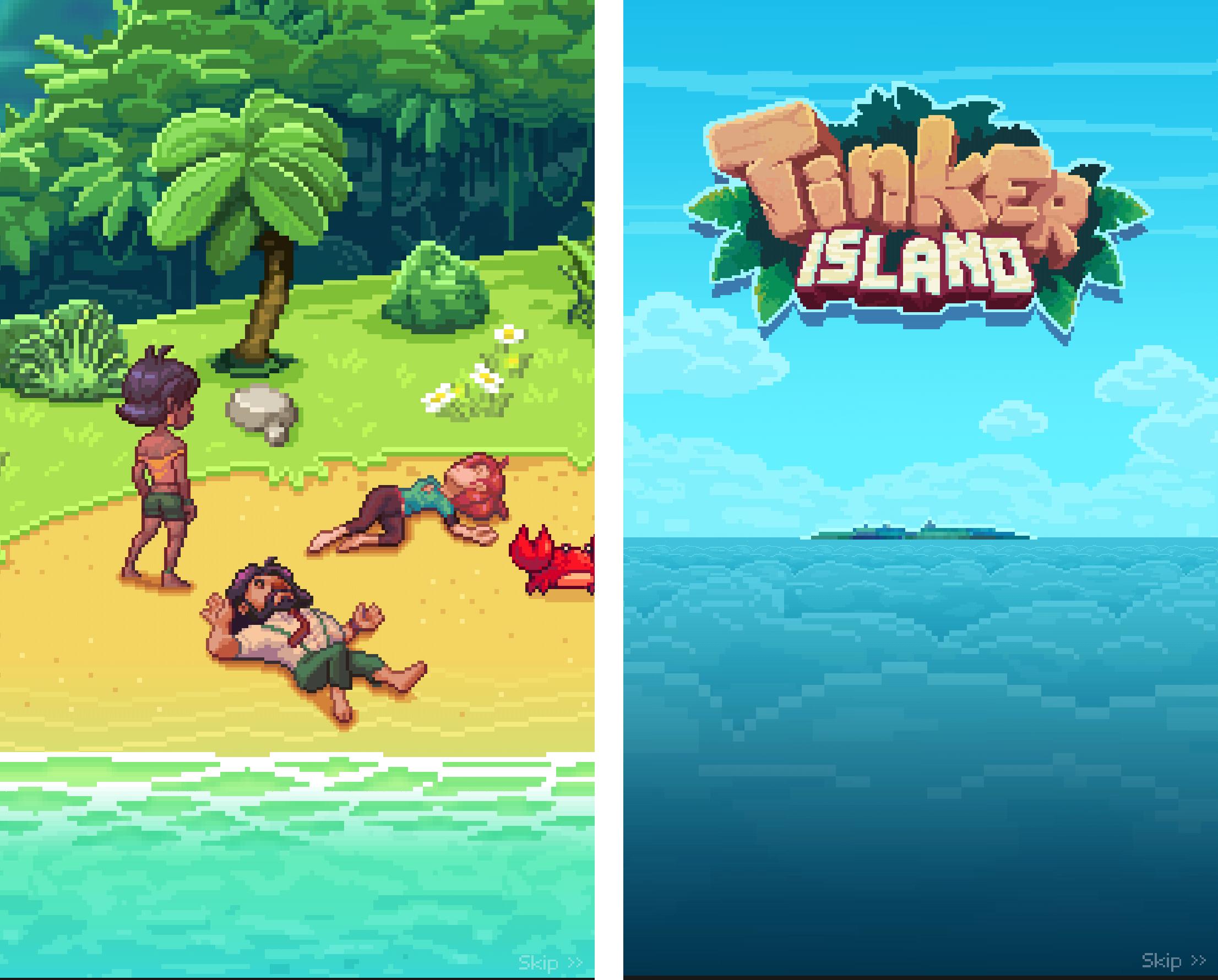 androidアプリ Tinker Island攻略スクリーンショット1