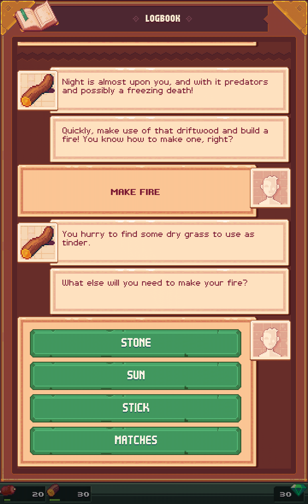 androidアプリ Tinker Island攻略スクリーンショット4