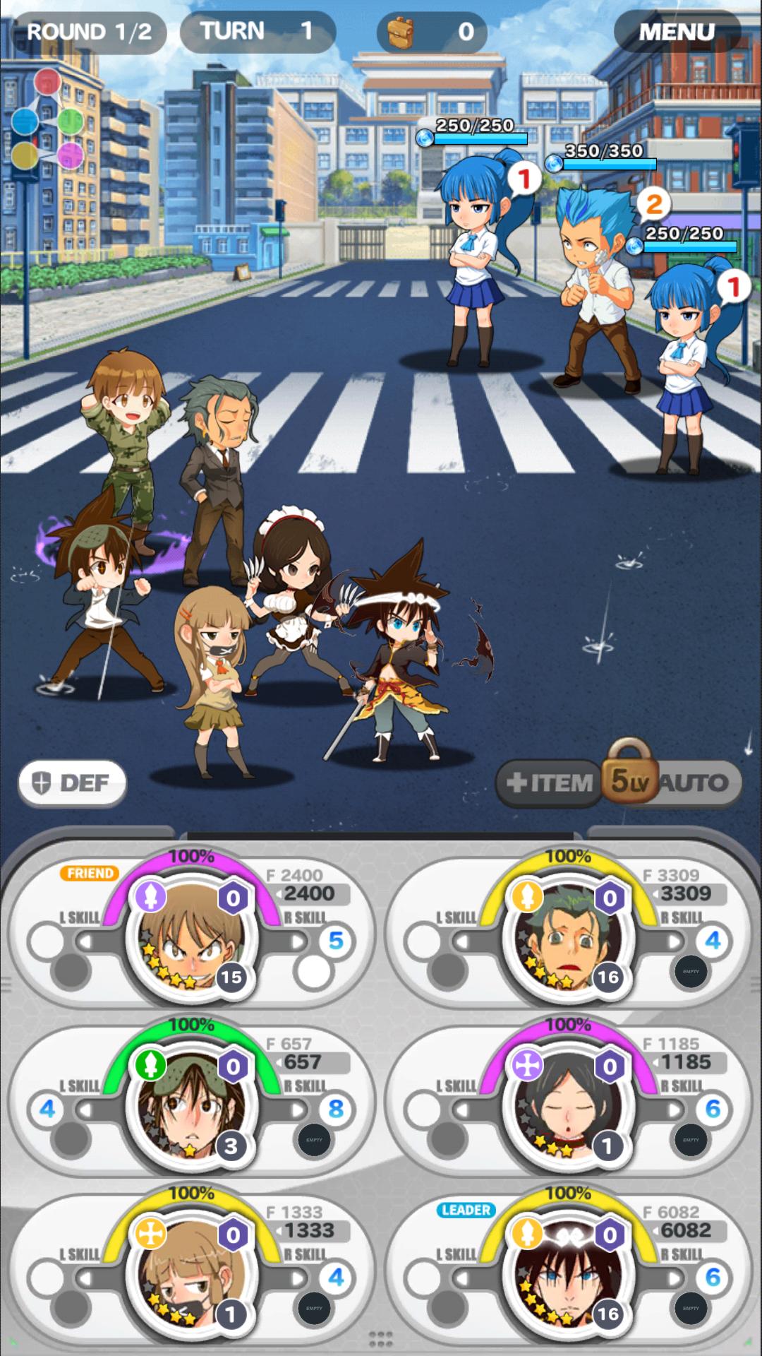 androidアプリ God of Highschool (ゴッドオブハイスクール)攻略スクリーンショット3