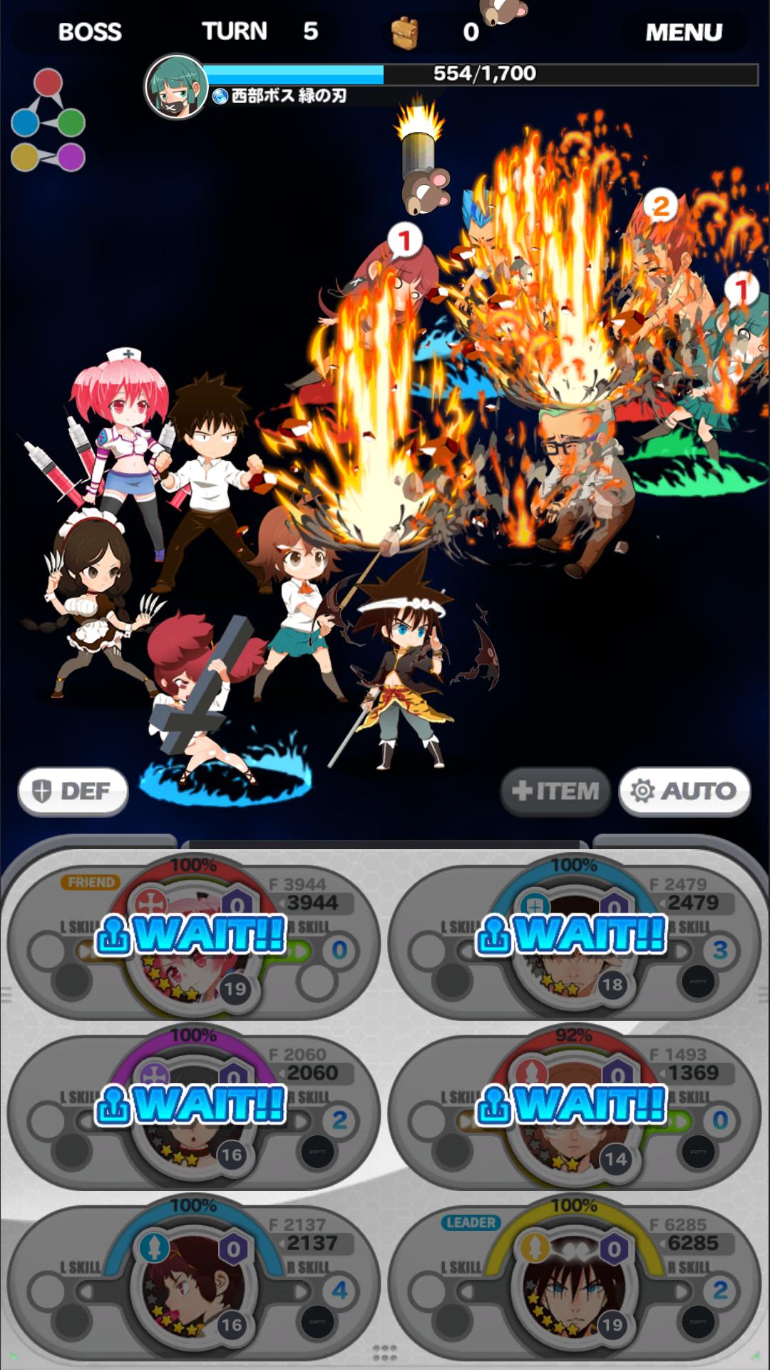 androidアプリ God of Highschool (ゴッドオブハイスクール)攻略スクリーンショット5