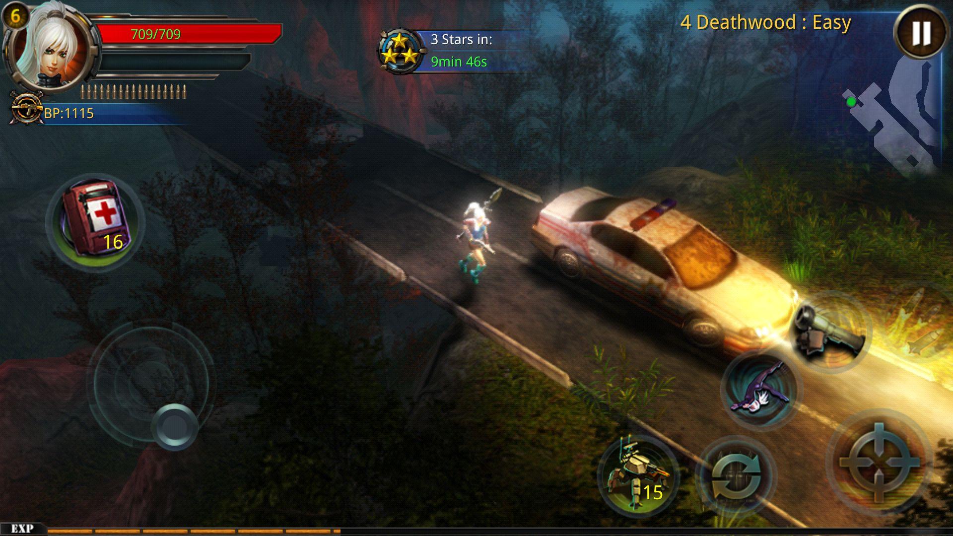 androidアプリ Broken Dawn II攻略スクリーンショット2