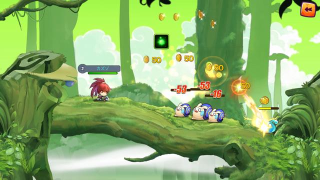 ファイナル・ストライク ~BLAST HERO~ androidアプリスクリーンショット1