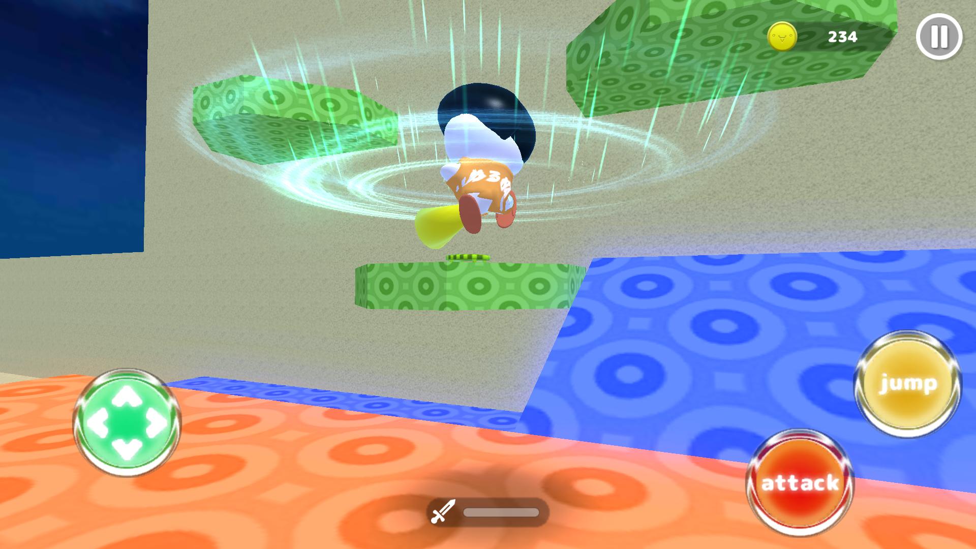 ショボーンのカオスワールド 3D androidアプリスクリーンショット2