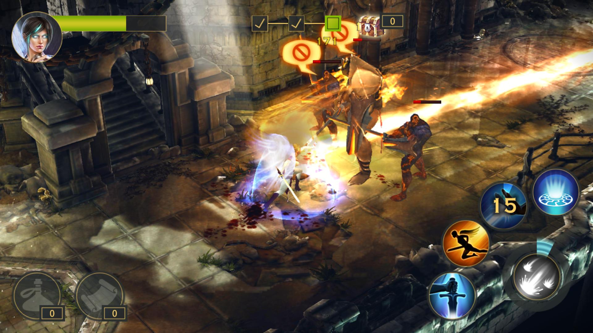 Sacred Legends(セイクリッド レジェンド) androidアプリスクリーンショット1