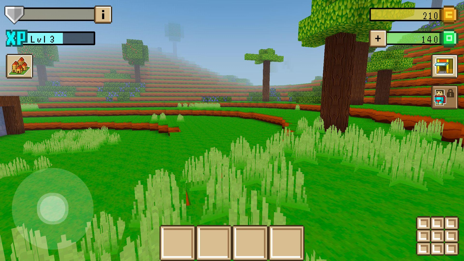androidアプリ ブロッククラフト3D(Block Craft 3D)攻略スクリーンショット1