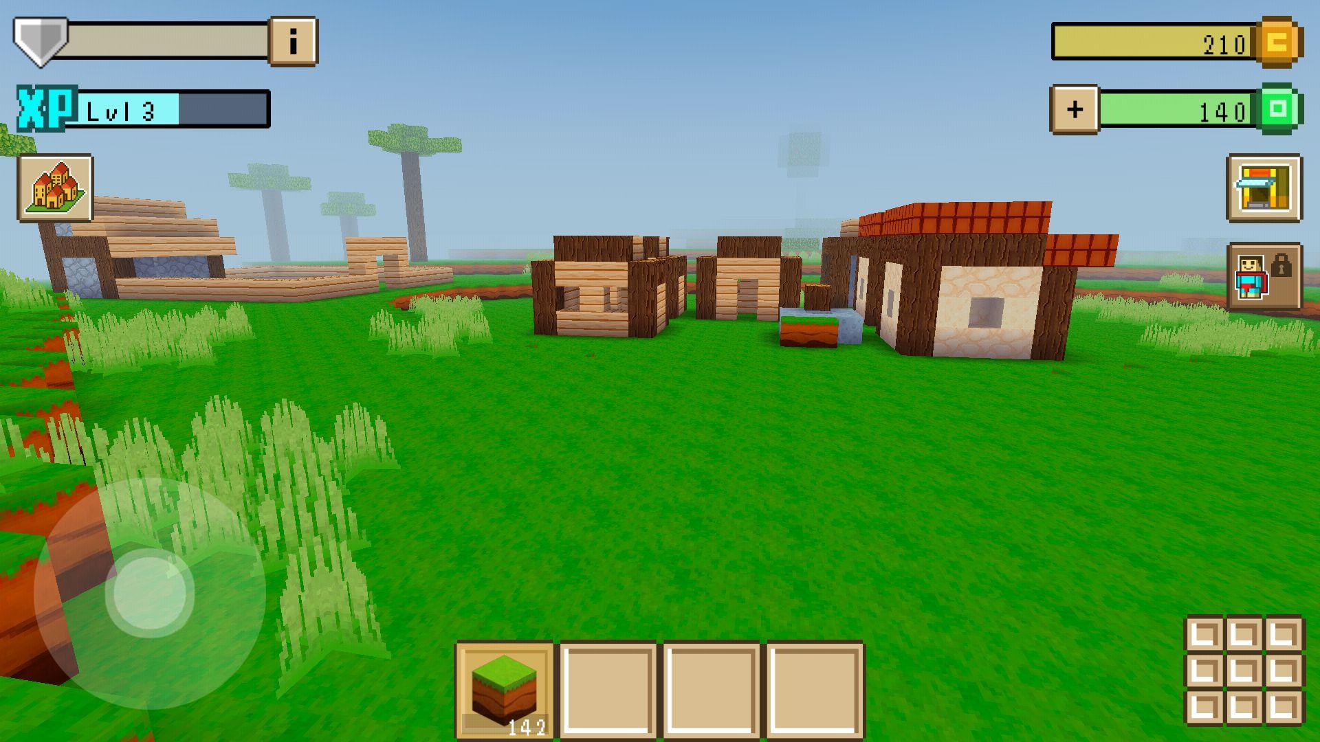 ブロッククラフト3D(Block Craft 3D) androidアプリスクリーンショット1