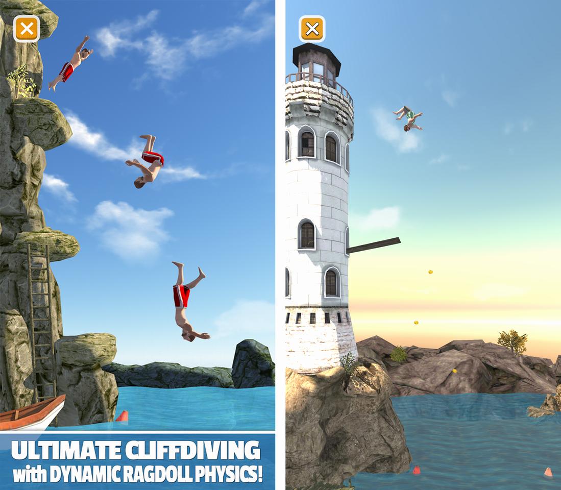 Flip Diving androidアプリスクリーンショット1
