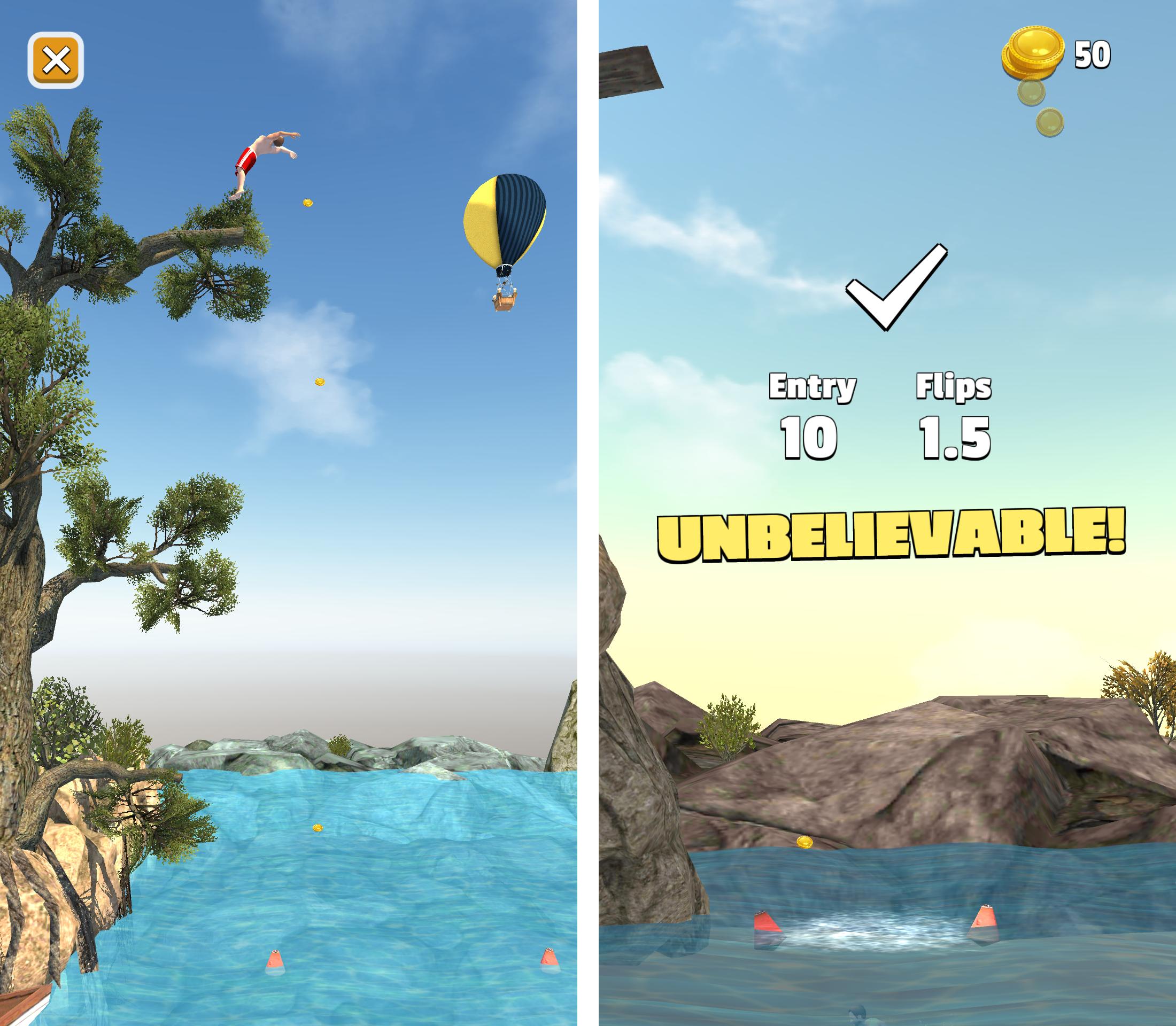 Flip Diving androidアプリスクリーンショット2