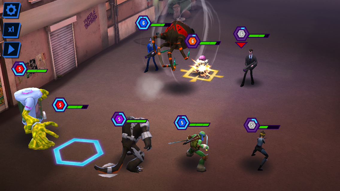 androidアプリ Ninja Turtles: Legends攻略スクリーンショット5