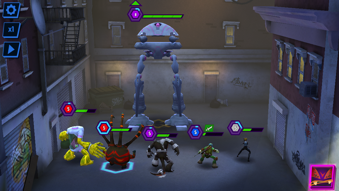 Ninja Turtles: Legends androidアプリスクリーンショット1