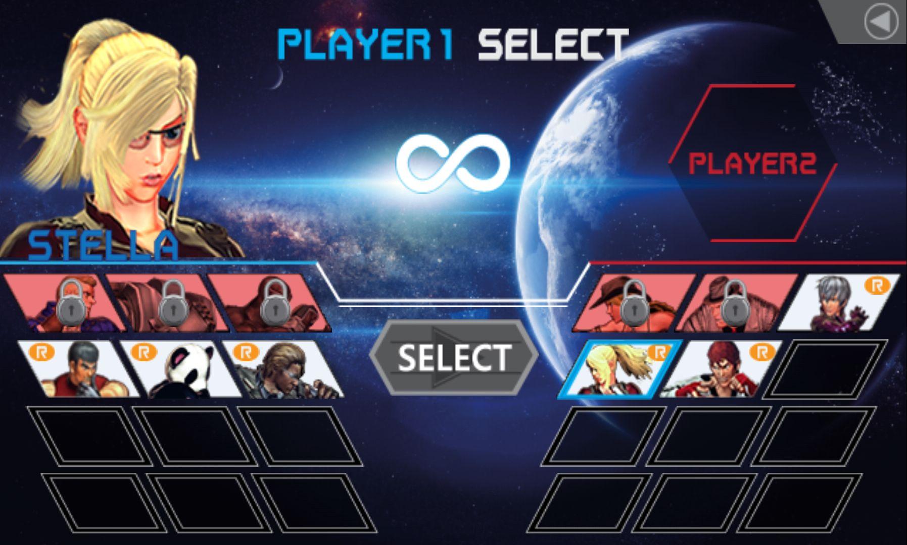 androidアプリ インフィニティファイター(Infinite Fighter)攻略スクリーンショット1