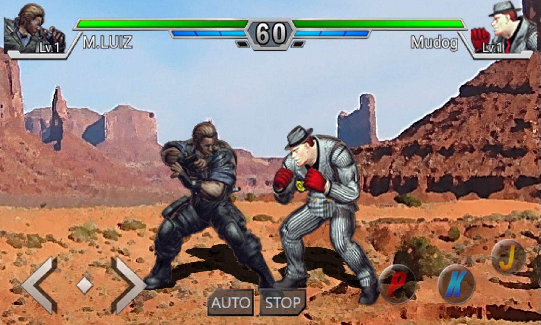 androidアプリ インフィニティファイター(Infinite Fighter)攻略スクリーンショット2