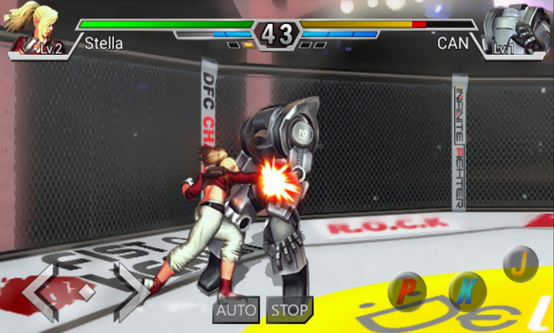 androidアプリ インフィニティファイター(Infinite Fighter)攻略スクリーンショット3