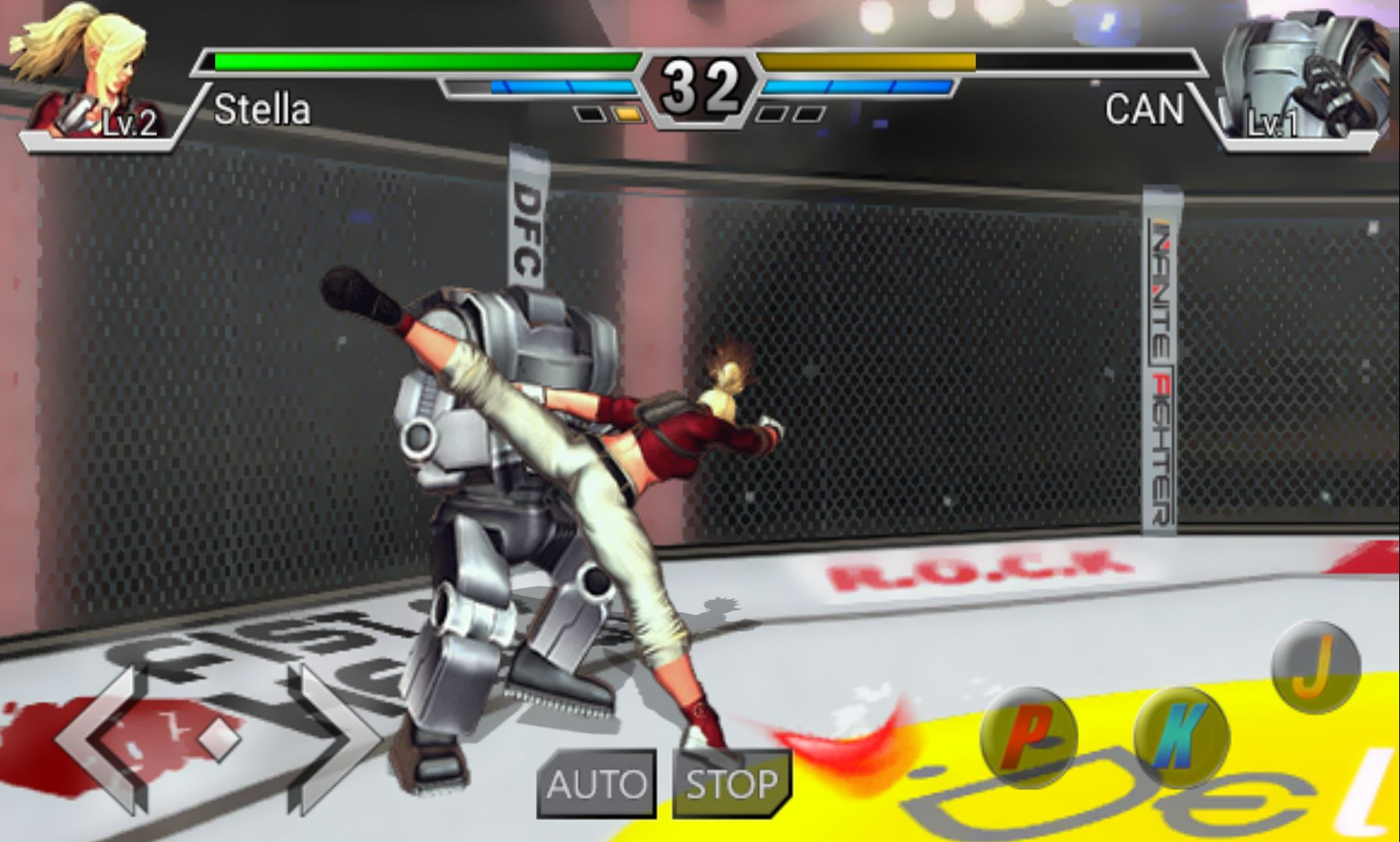 androidアプリ インフィニティファイター(Infinite Fighter)攻略スクリーンショット4