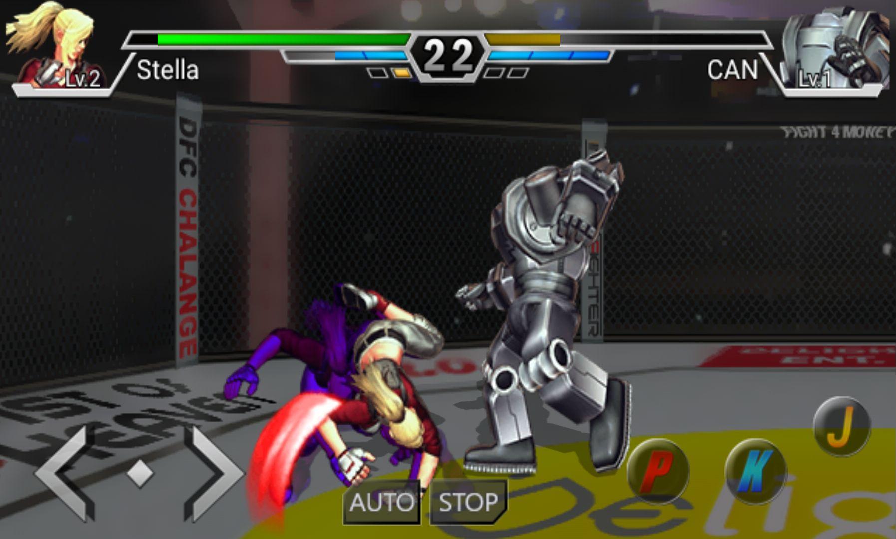 androidアプリ インフィニティファイター(Infinite Fighter)攻略スクリーンショット5