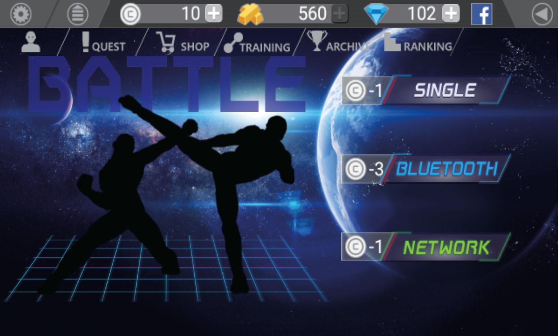 インフィニティファイター(Infinite Fighter) androidアプリスクリーンショット2