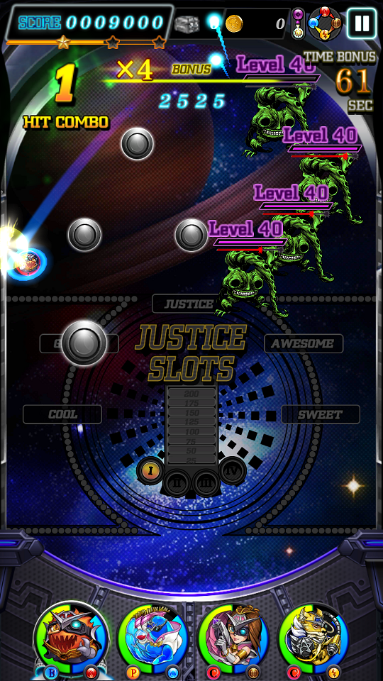 androidアプリ JUSTICE MONSTERS FIVE(ジャスモン)攻略スクリーンショット2