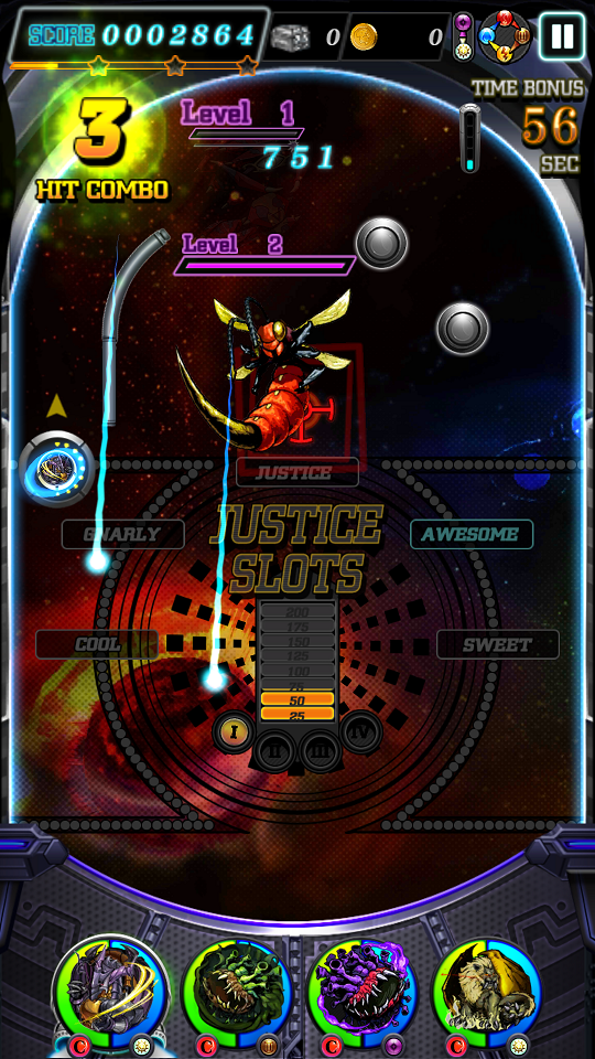 androidアプリ JUSTICE MONSTERS FIVE(ジャスモン)攻略スクリーンショット8