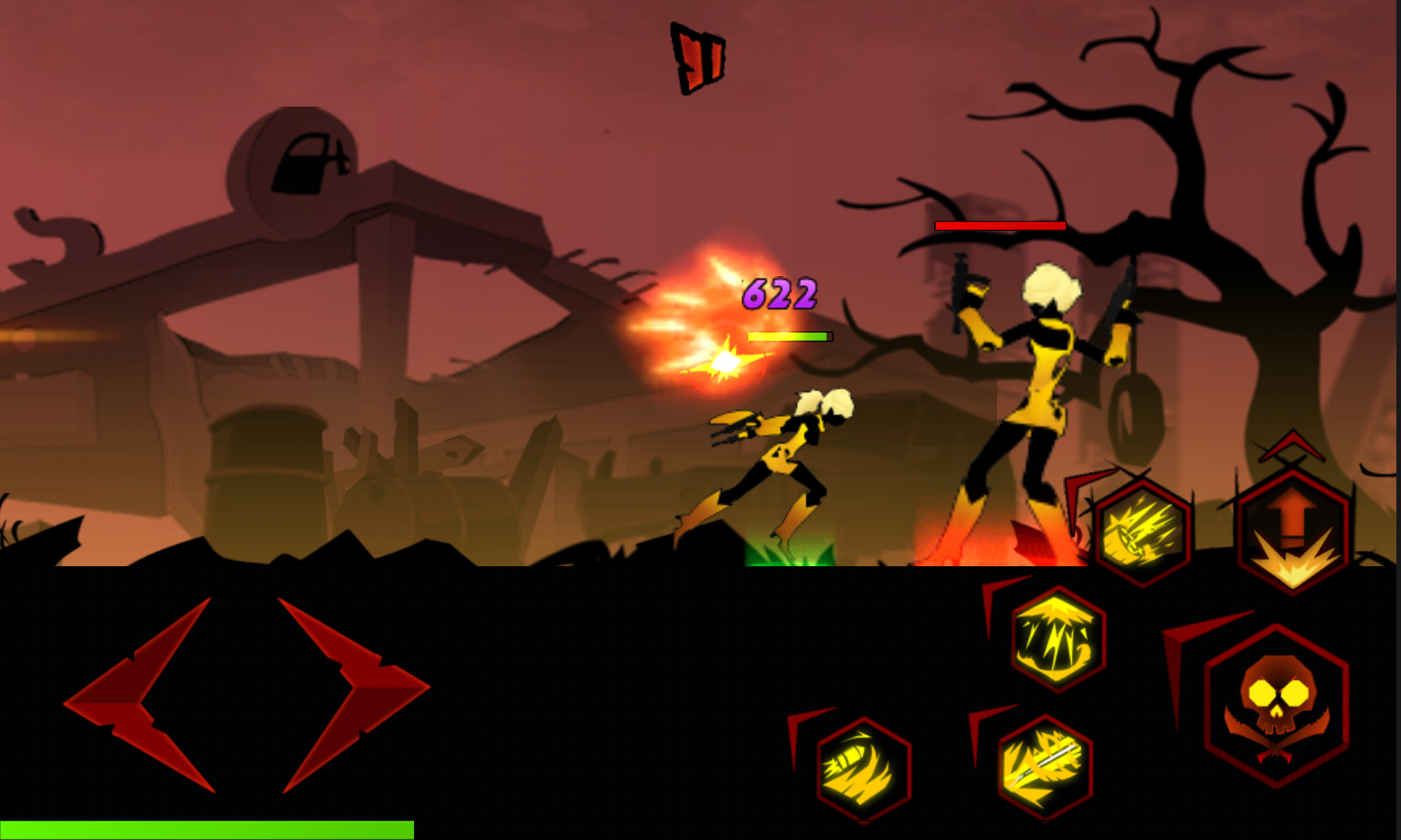 androidアプリ League of Stickman Zombie Free攻略スクリーンショット8