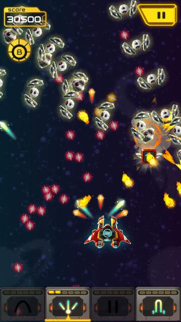 スペースシューター: Galaxy attack androidアプリスクリーンショット3