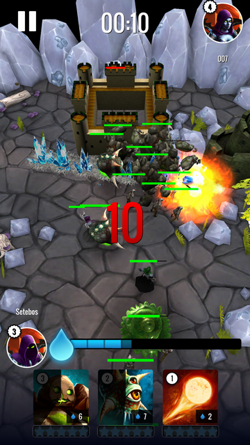 androidアプリ Clash Of Magic攻略スクリーンショット4