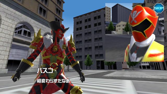 androidアプリ スーパー戦隊レジェンドウォーズ攻略スクリーンショット4