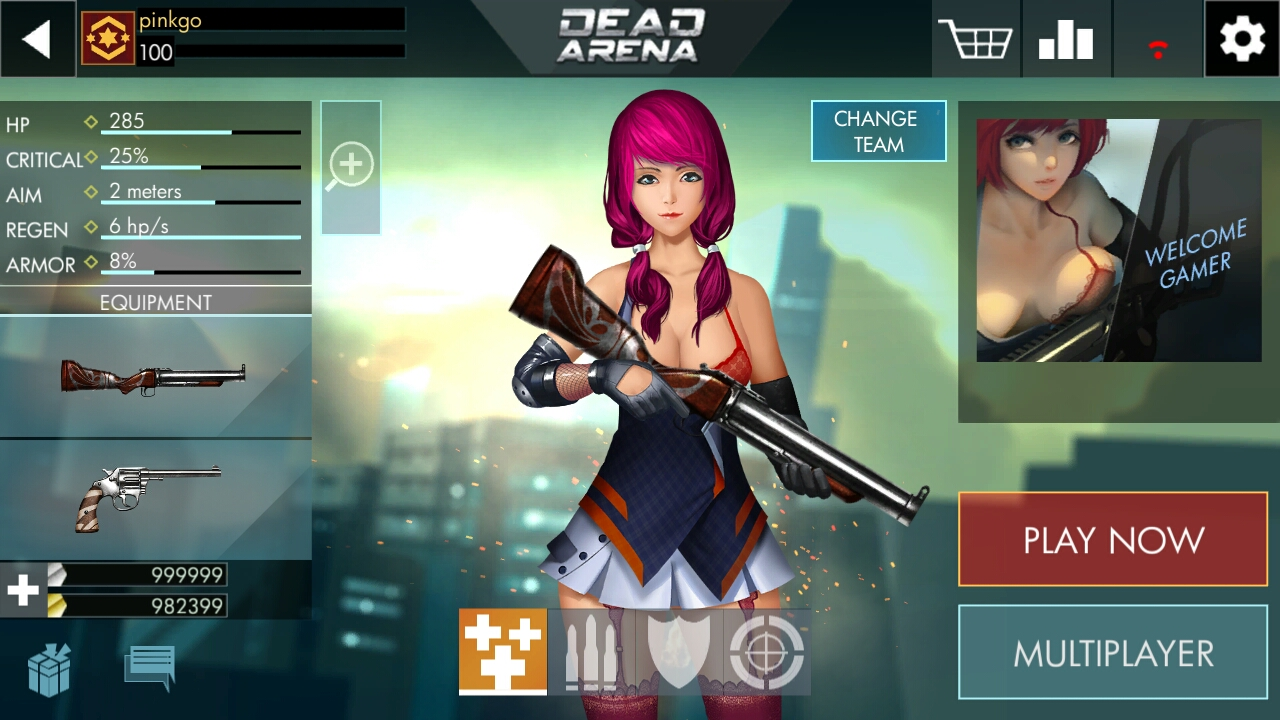 androidアプリ Dead Arena: Strike Sniper攻略スクリーンショット2