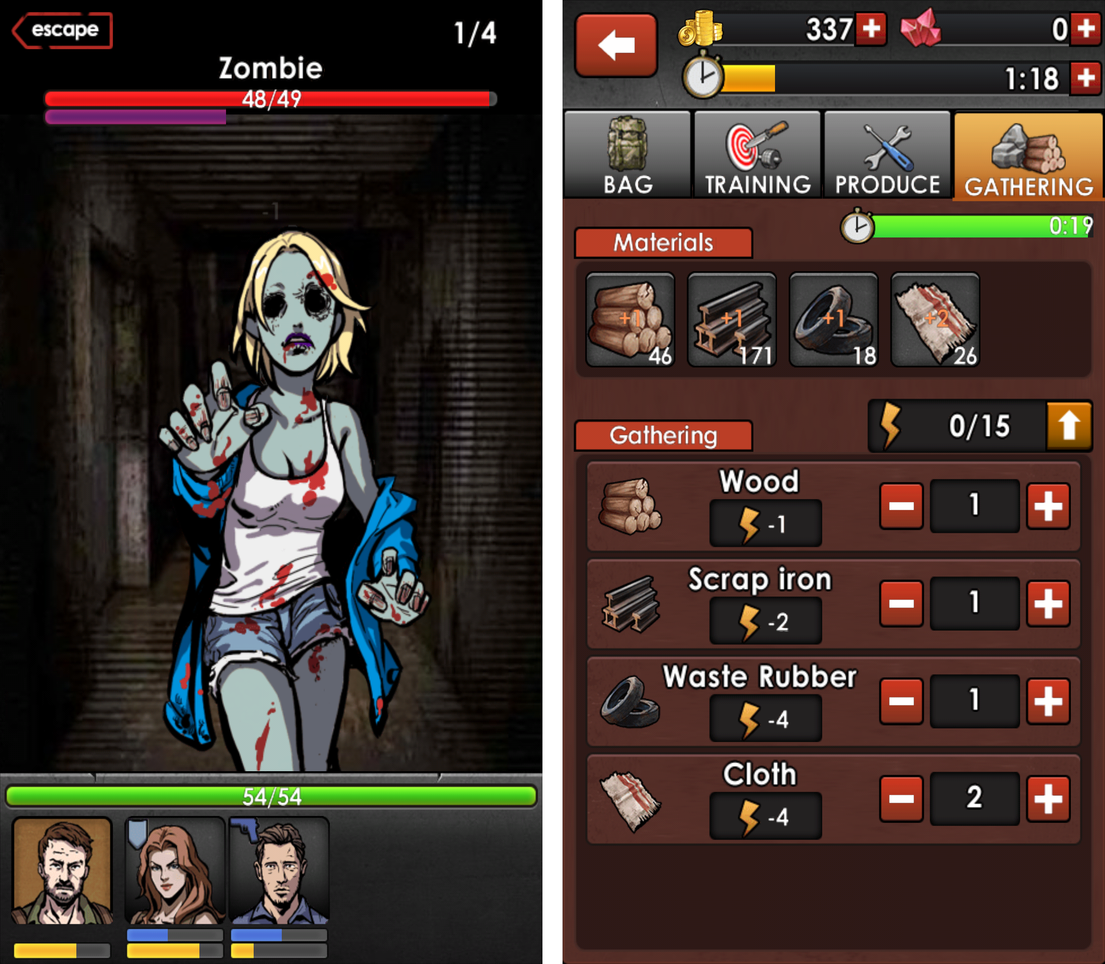 SURVIVE - Apocalypse Survival(生存:末日サバイバル) androidアプリスクリーンショット2