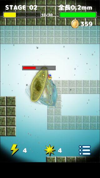 androidアプリ 大怪獣ミジン娘攻略スクリーンショット2
