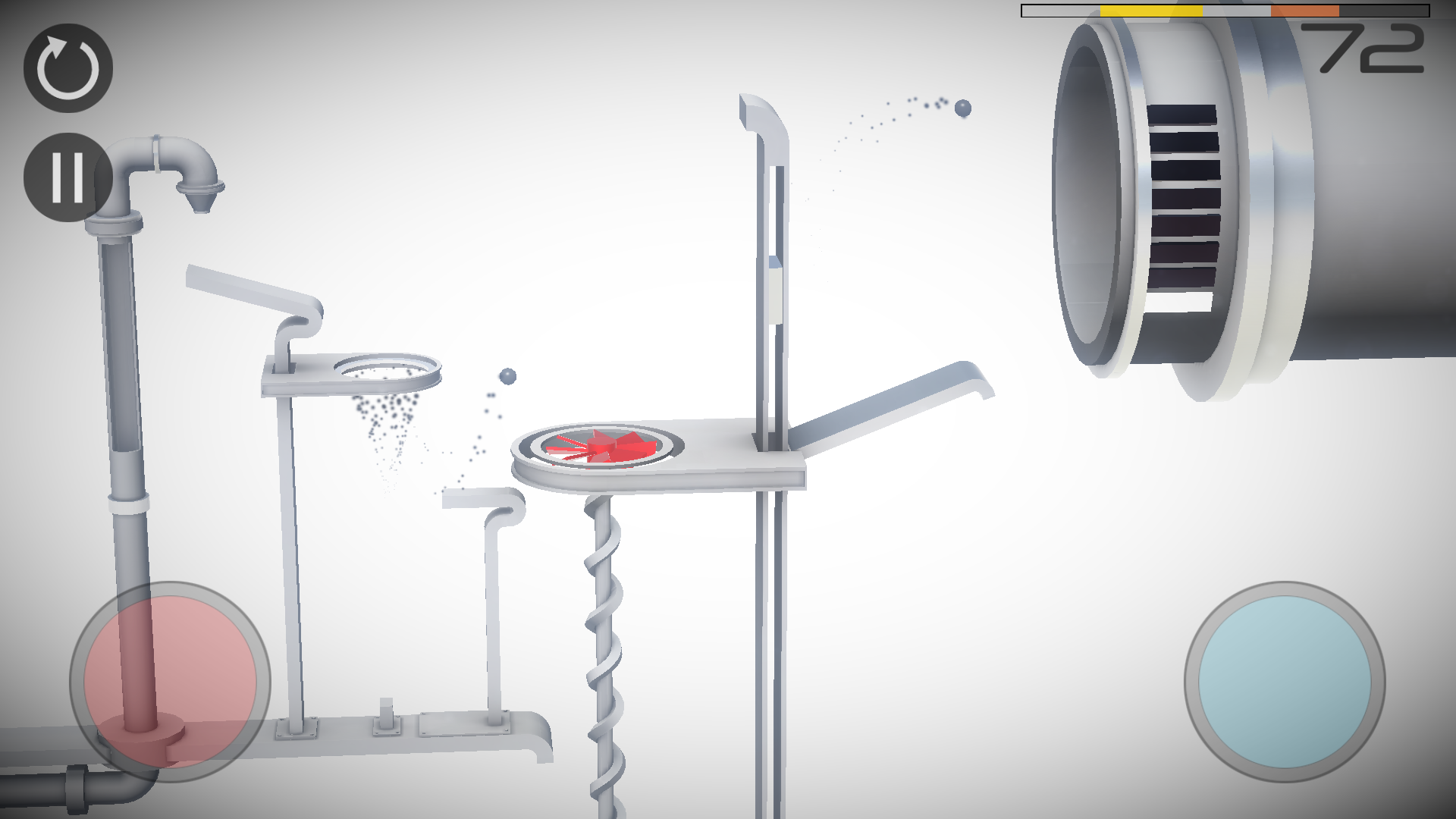 androidアプリ Perchang -パズルボール-攻略スクリーンショット5