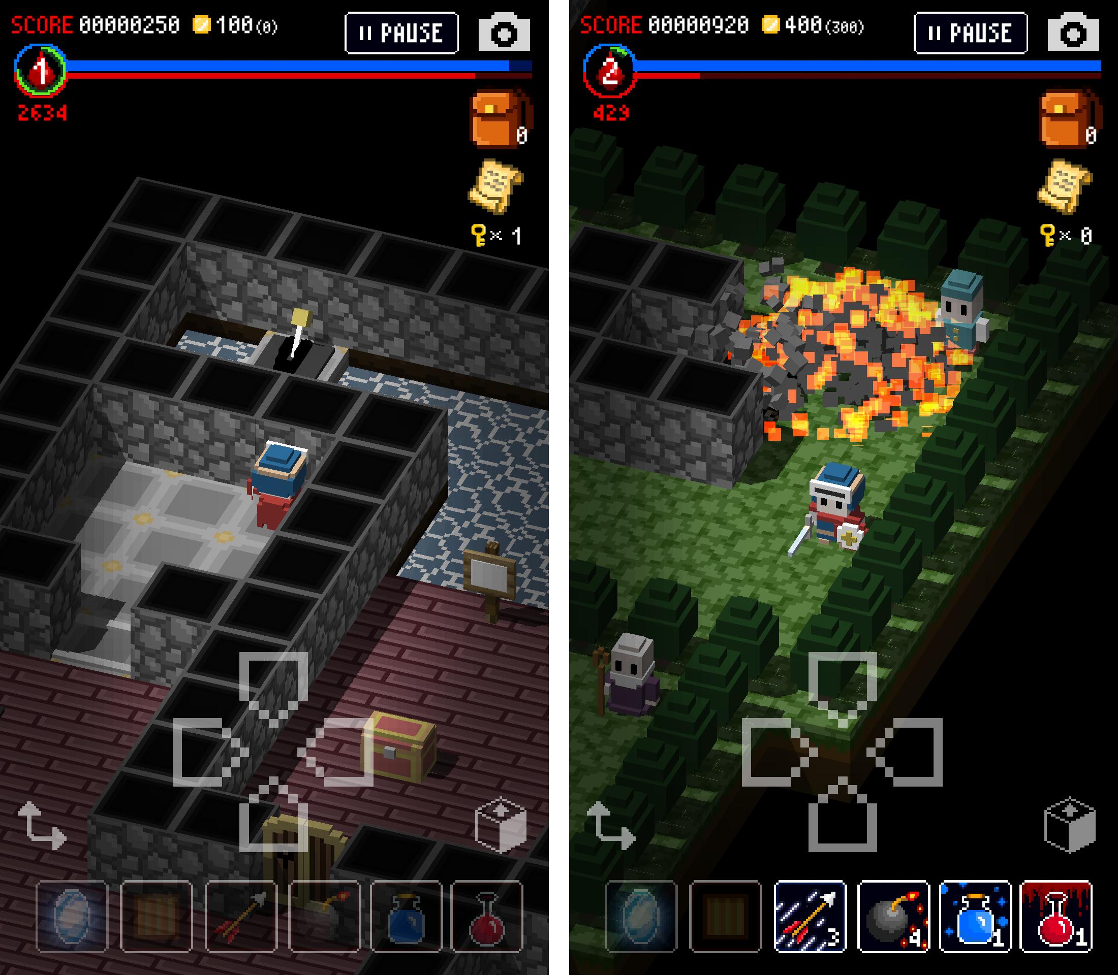 androidアプリ ダンジョンに立つ墓標(Dungeon of Gravestone)攻略スクリーンショット5