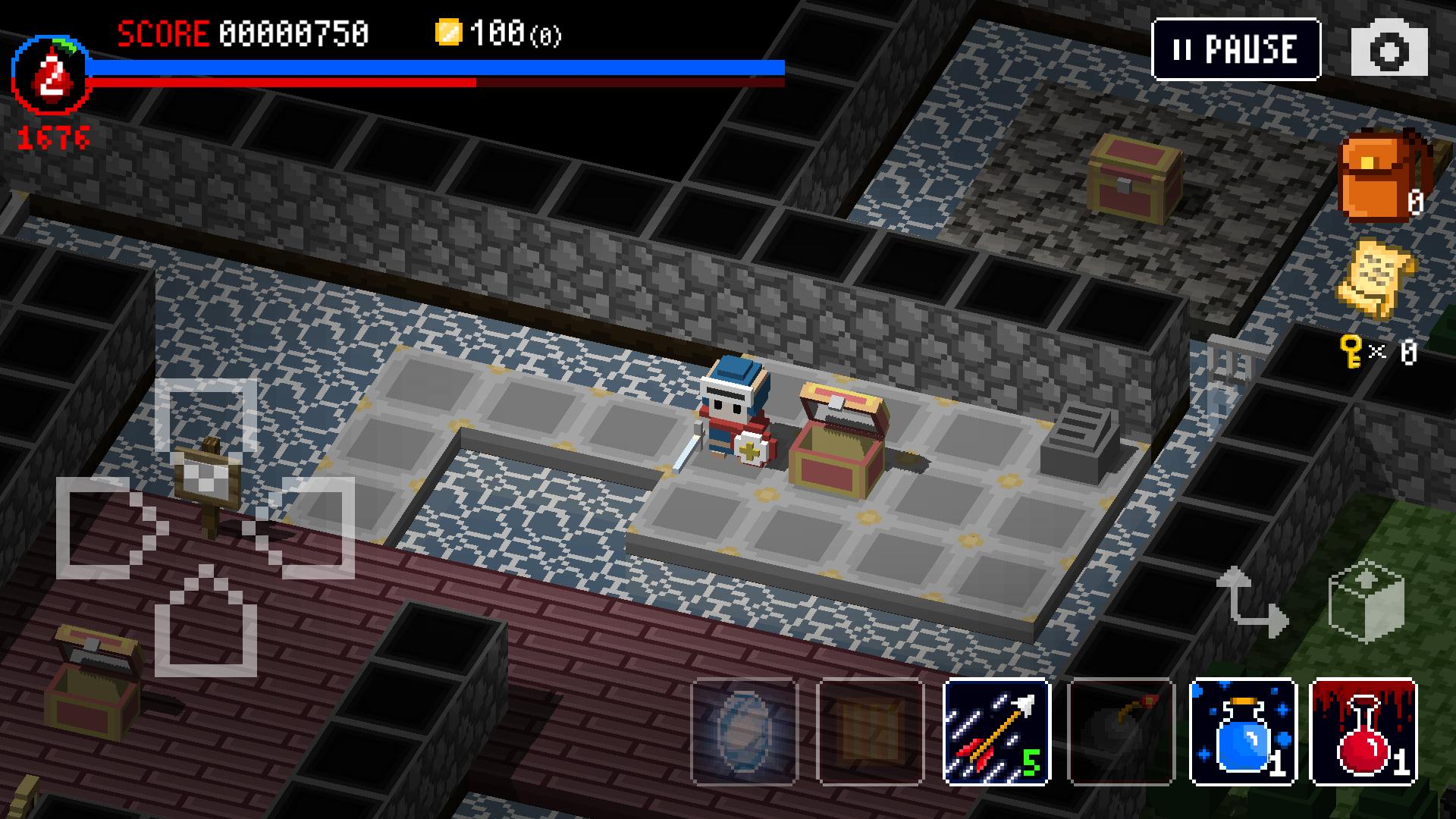 ダンジョンに立つ墓標(Dungeon of Gravestone) androidアプリスクリーンショット2