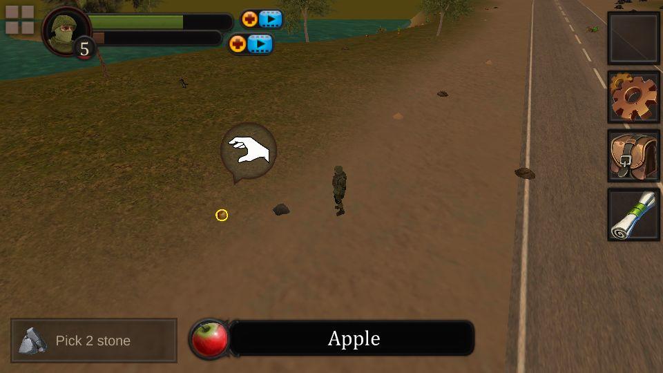 androidアプリ Survival Island R攻略スクリーンショット1