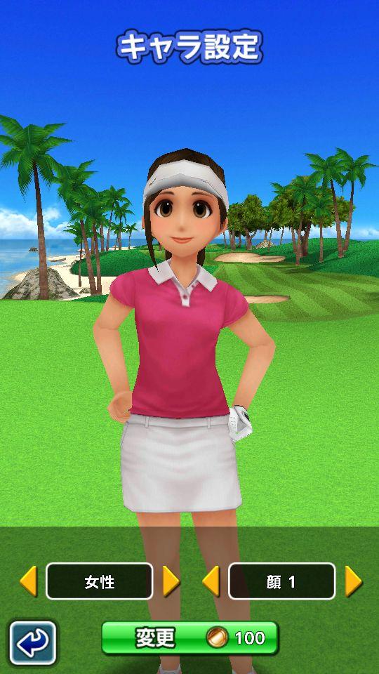 androidアプリ ゴルフ デイズ : エキサイト リゾートツアー攻略スクリーンショット1