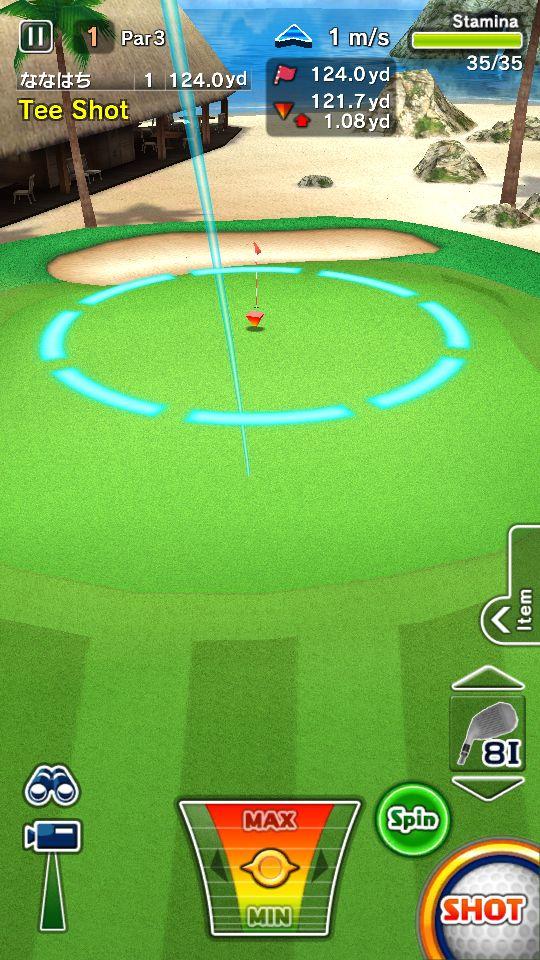 androidアプリ ゴルフ デイズ : エキサイト リゾートツアー攻略スクリーンショット2