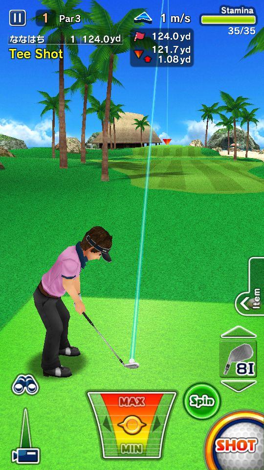 ゴルフ デイズ : エキサイト リゾートツアー androidアプリスクリーンショット1