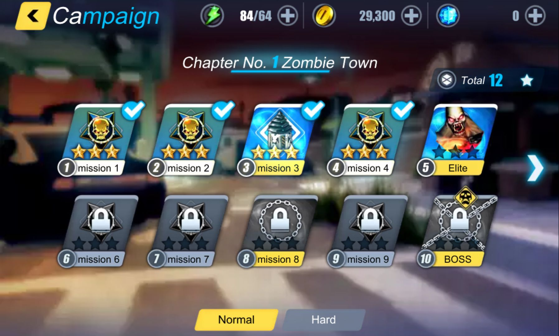 androidアプリ Zombie Trigger攻略スクリーンショット1