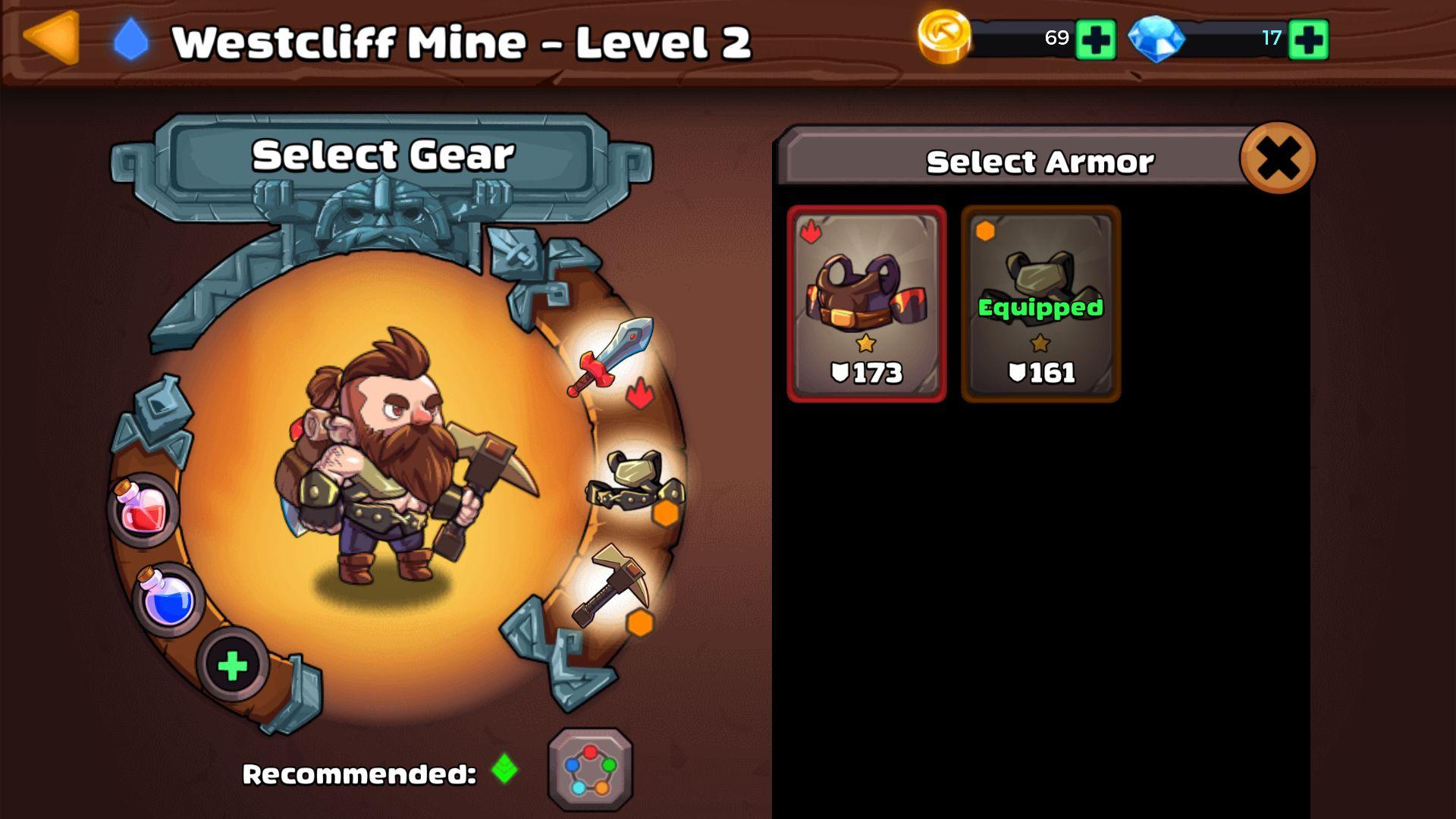 androidアプリ マインクエスト2(Mine Quest 2)攻略スクリーンショット2