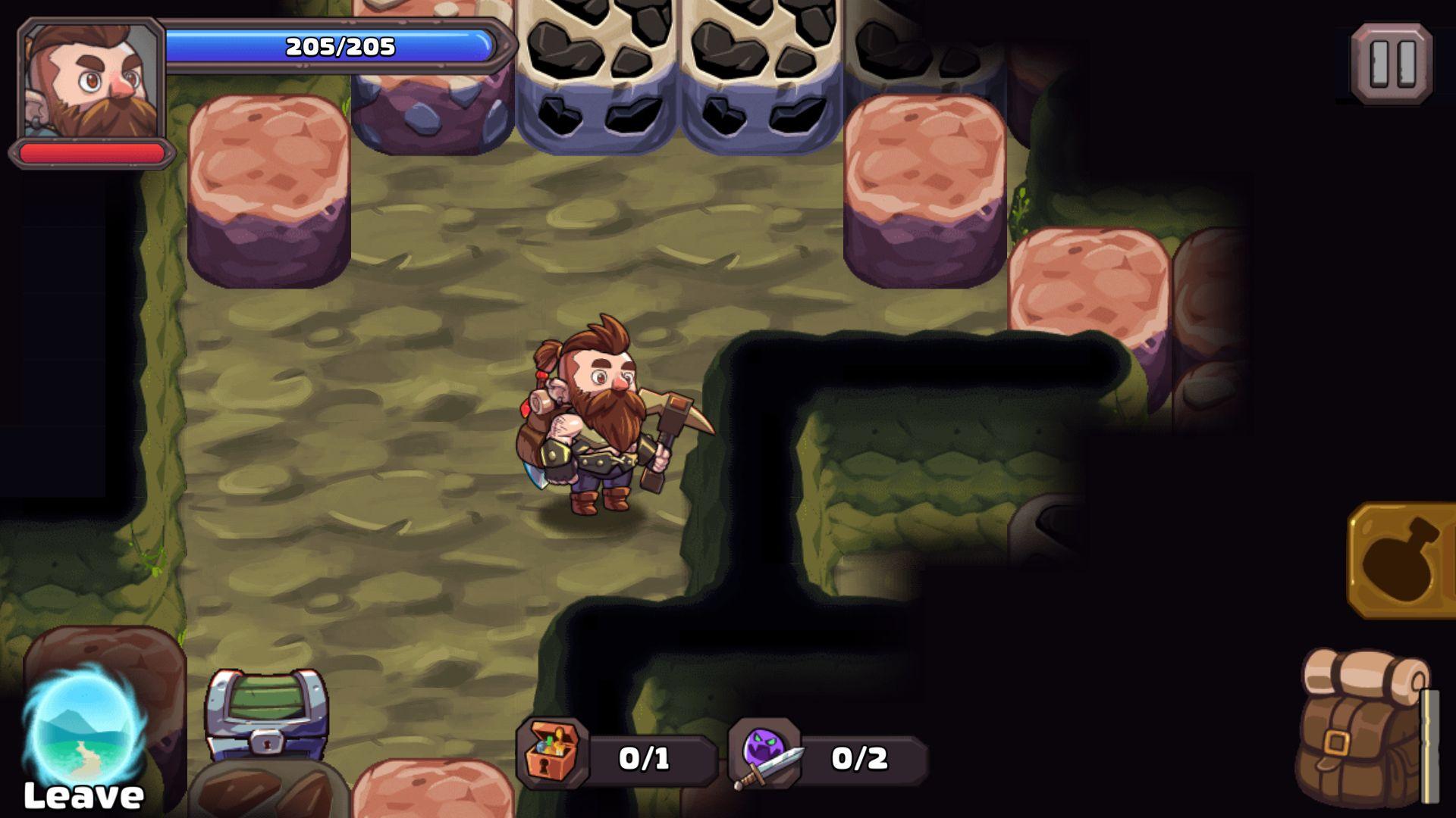 androidアプリ マインクエスト2(Mine Quest 2)攻略スクリーンショット3