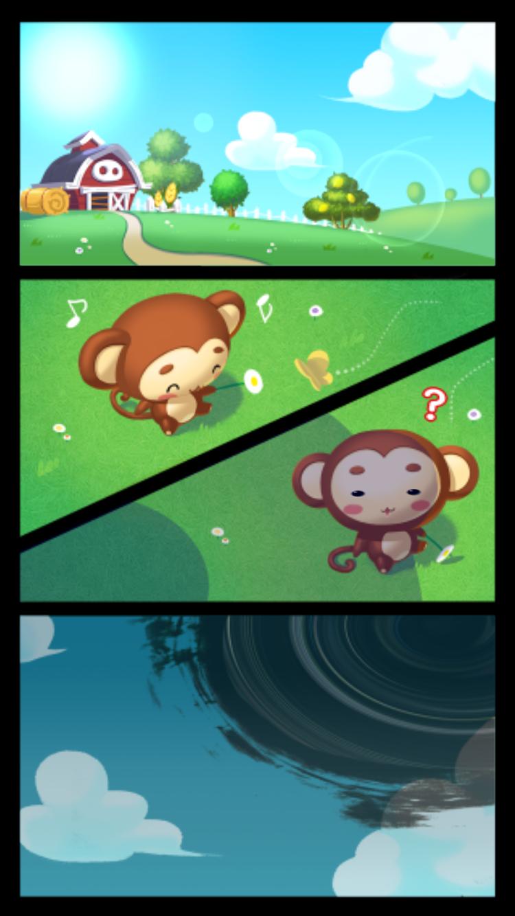 androidアプリ LINE タッチモンチー攻略スクリーンショット1