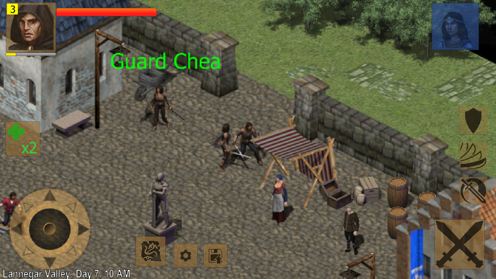 androidアプリ Exiled Kingdoms RPG攻略スクリーンショット4