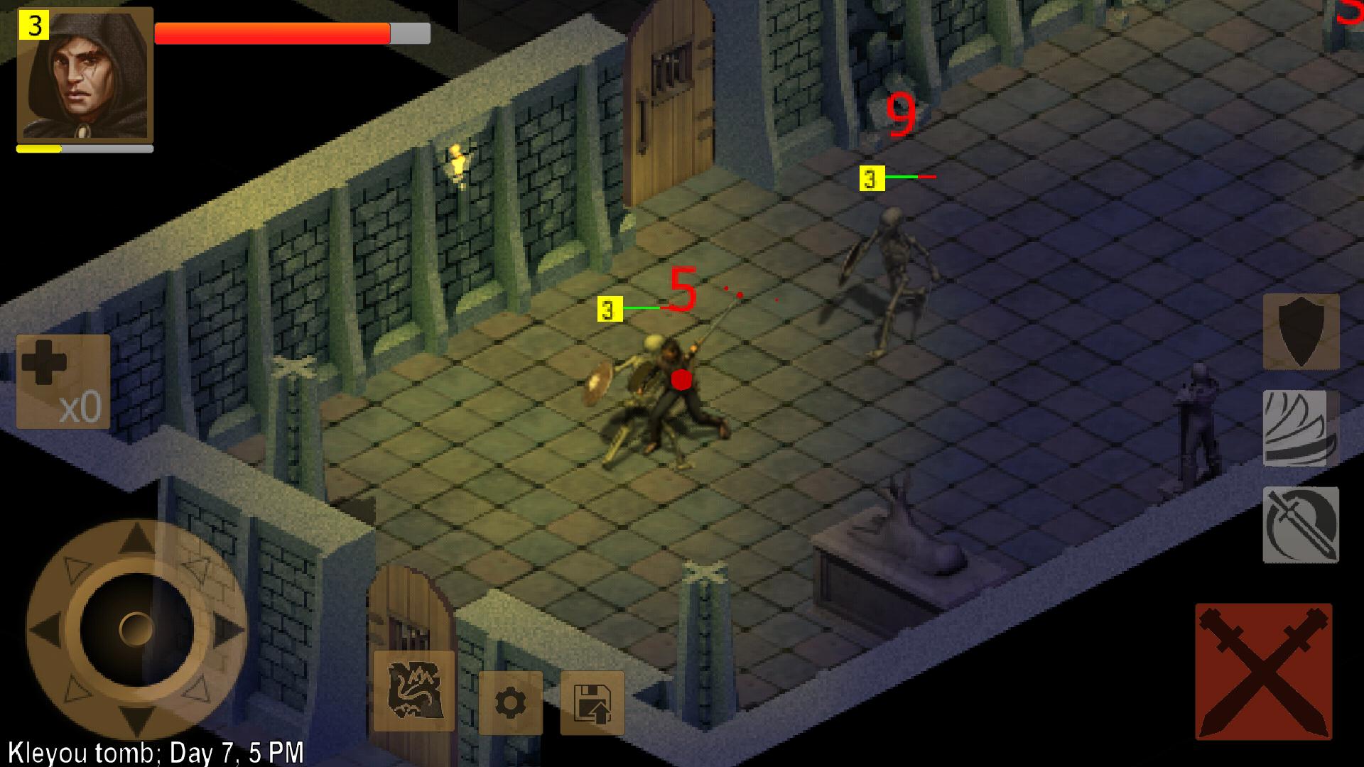 Exiled Kingdoms RPG androidアプリスクリーンショット1