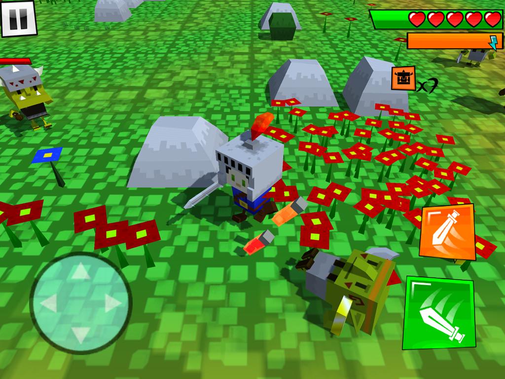 androidアプリ Box Warrior(ボックスの戦士)攻略スクリーンショット2