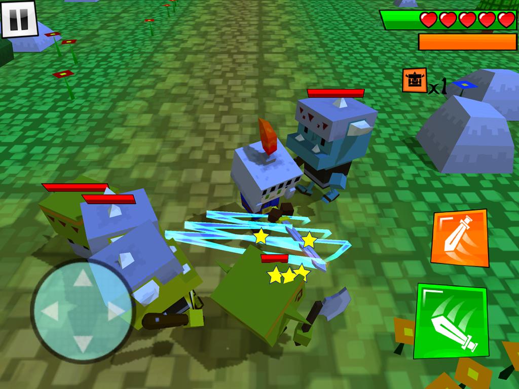 androidアプリ Box Warrior(ボックスの戦士)攻略スクリーンショット4