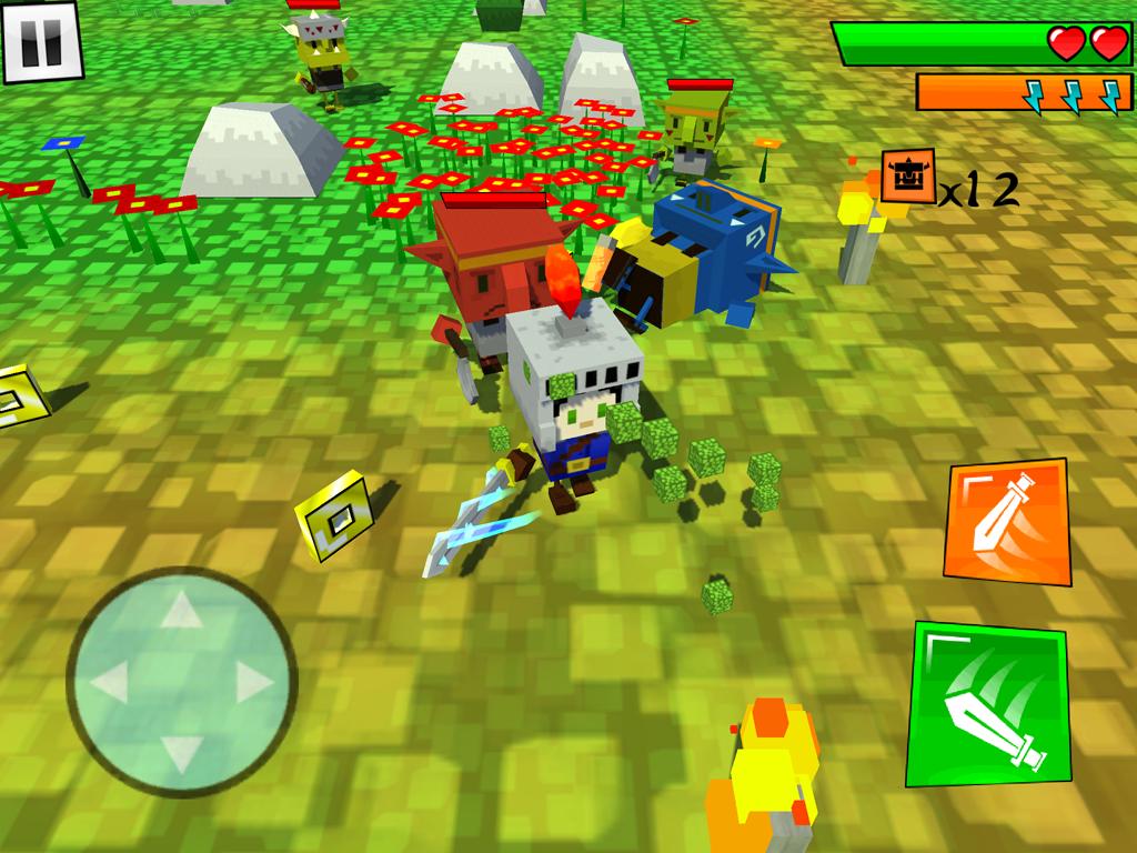 Box Warrior(ボックスの戦士) androidアプリスクリーンショット1